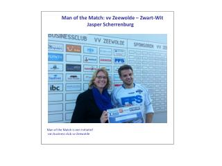 Man of the Match: vv Zeewolde – Zwart-Wit Jasper Scherrenburg