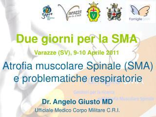 Due giorni per la SMA Varazze (SV), 9-10 Aprile 2011