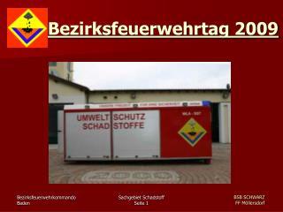 Bezirksfeuerwehrtag 2009
