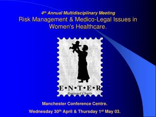 Manchester Conference Centre. Wednesday 30 th  April & Thursday 1 st  May 03.