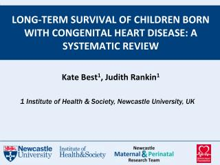 Long-term survival of children born with congenital heart disease: a systematic review