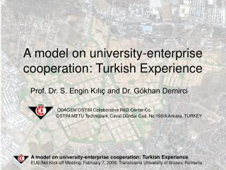 A model on university-enterprise cooperation: Turkish Experience