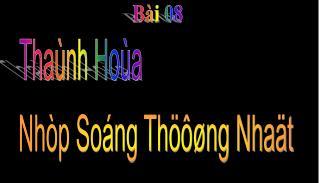Thaùnh Hoùa