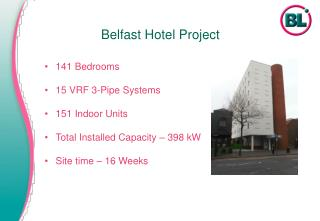 Belfast Hotel Project