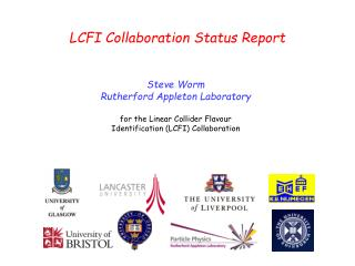 LCFI Collaboration Status Report