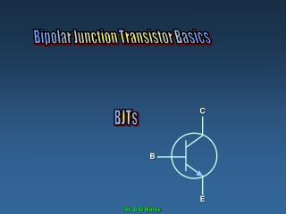 Bipolar Junction Transistor Basics