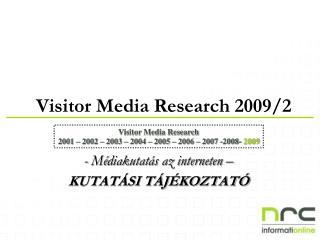 -  M é dia kutatás az interneten – KUTATÁSI TÁJÉKOZTATÓ
