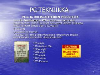 PC-TEKNIIKKA