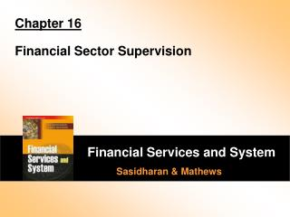 Chapter 16 Financial Sector Supervision