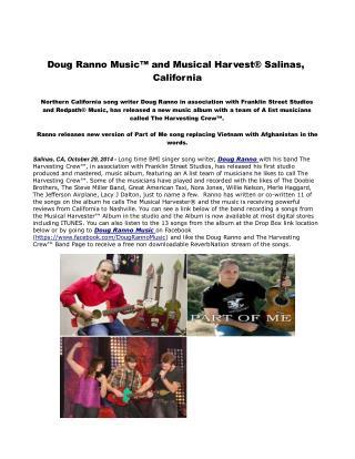 Doug Ranno Music™ and Musical Harvest® Salinas, California