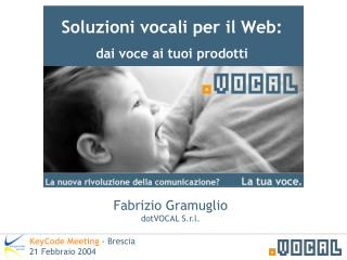 Soluzioni vocali per il Web: dai voce ai tuoi prodotti