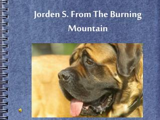 Jorden S. From The Burning Mountain