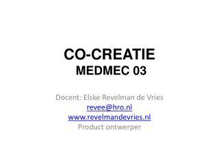 CO-CREATIE MEDMEC 03