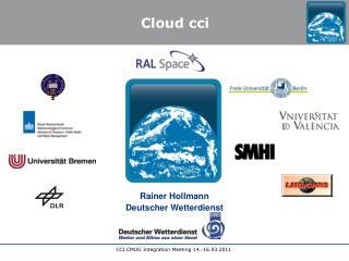 Rainer Hollmann Deutscher Wetterdienst