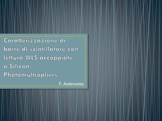 F. Ambrosino