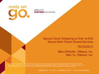 Secure Cloud: Designing an End -to-End Secure Multi-Tenant Shared Services TECHC0210