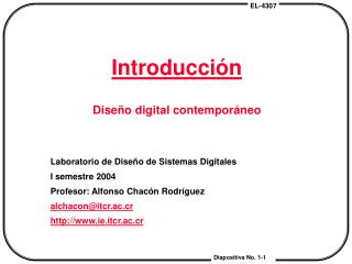 Introducción Diseño digital contemporáneo