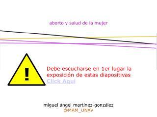 aborto y salud de la mujer