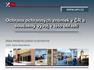Ochrana ochranných známek v ČR a současný vývoj v této oblasti