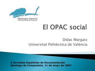 El OPAC social