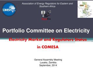 Electricity Market and Regulators Status in COMESA