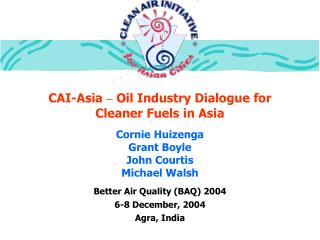 CAI-Asia  –  Oil Industry Dialogue for Cleaner Fuels in Asia