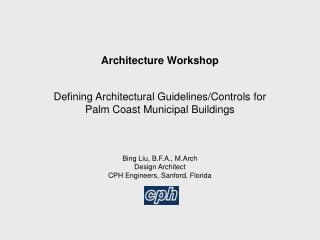 Architecture Workshop  Defining Architectural Guidelines