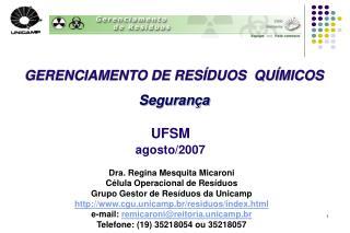 UFSM agosto/2007