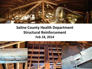 Saline County Health Department Structural Reinforcement Feb 18, 2014