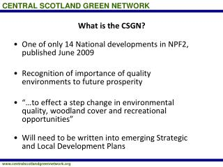 What is the CSGN?