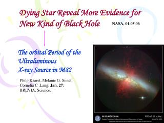Dying Star Reveal More Evidence for  New Kind of Black Hole