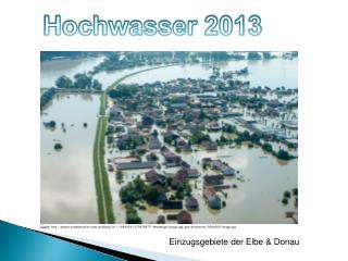 Einzugsgebiete der Elbe & Donau