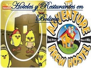 Hoteles y  Resturantes  en Bolivia