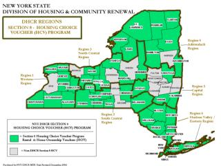 NYS DHCR Statewide Section 8 HCV Home Ownership Program Assets for Independence AFI Program