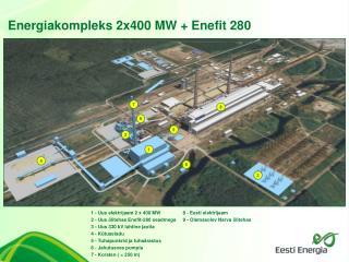 Energiakompleks 2x400 MW + Enefit 280
