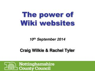 The power of  Wiki websites