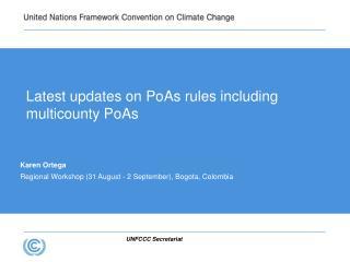 Latest updates on PoAs rules including multicounty PoAs
