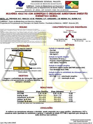 CeMENutri - Centro de Metabolismo em Exercício e Nutrição.