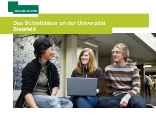 Das Schreiblabor an der Universität Bielefeld