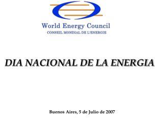 Buenos Aires, 5 de Julio de 2007