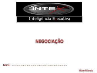 Inteligência E x ecutiva