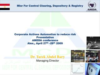 Misr For Central Clearing, Depository  Registry