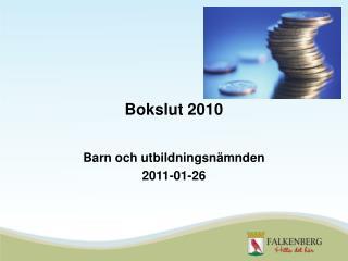 Bokslut 2010