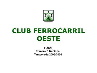 CLUB FERROCARRIL OESTE