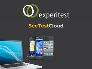 SeeTest Cloud