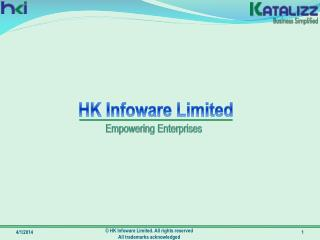 HK Infoware Limited. All rights reserved  All trademarks acknowledged