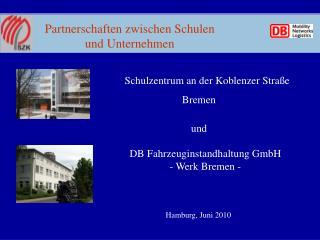 Partnerschaften zwischen Schulen und Unternehmen