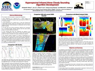 Hyperspectral Infrared Alone Cloudy Sounding Algorithm Development
