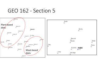 GEO 162 - Section 5