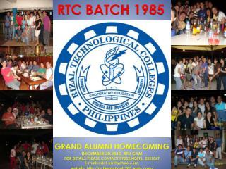 RTC BATCH 1985